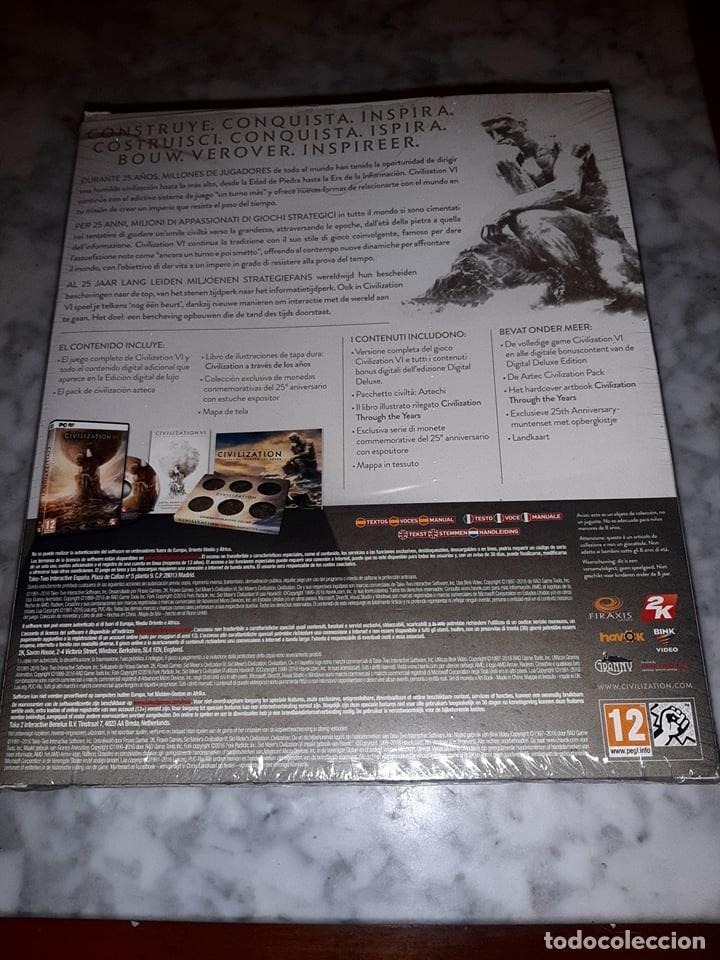 Videojuegos y Consolas: juego civilization vi firaxis games 25th anniversary edition - Foto 3 - 223414203