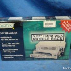 """Videojuegos y Consolas: ADAPTADOR EXTRAÍBLE PARA DISCOS DUROS DE 5,25 """" - HARD DISC MOBILE RACK - NUEVO Y PRECINTADO. Lote 223987967"""