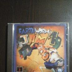 Videojuegos y Consolas: EARTHWORM JIM 1 PC. Lote 224216440