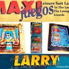Videojuegos y Consolas: LEISURE SUIT LARRY 1 LAND LOUNGE LIZARDS [SIERRA ONLINE] 1991-94 ERBE [PC DOS 3 1/2] MAXIJUEGOS Nº 6. Lote 224789815