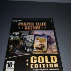 Videojuegos y Consolas: C54. JUEGO DE PC PANZER ELITE ACTION GOLD EDITION. Lote 225305698