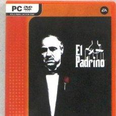Videojogos e Consolas: PC -DVD - EL PADRINO - LIBRO INSTRUCCIONES- JUEGO. Lote 225320980
