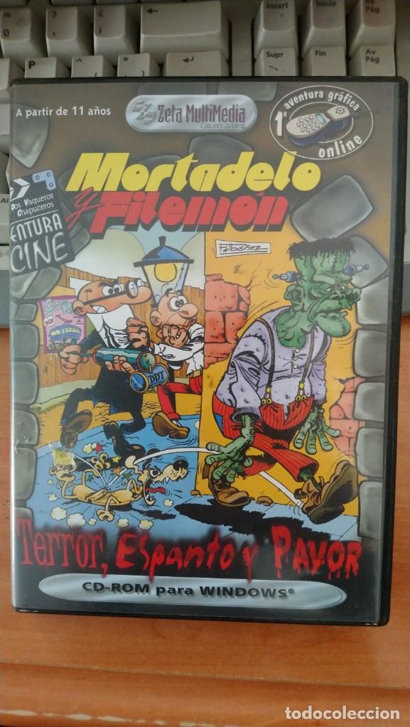 MORTADELO Y FILEMON, CD-ROM (Juguetes - Videojuegos y Consolas - PC)