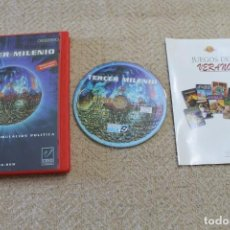 Videojuegos y Consolas: TECER MILENIO JUEGO PC EN CASTELLANO. Lote 227704200