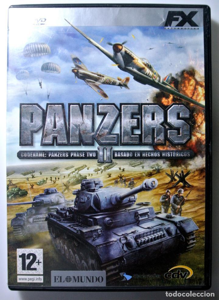 PC DVD ROM JUEGO PANZERS II , JUEGO PARA PC , INCLUYE MANUAL DE JUEGO (Juguetes - Videojuegos y Consolas - PC)