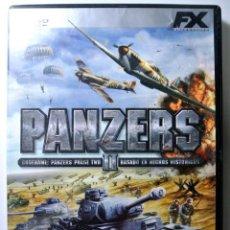 Videojuegos y Consolas: PC DVD ROM JUEGO PANZERS II , JUEGO PARA PC , INCLUYE MANUAL DE JUEGO. Lote 228340510