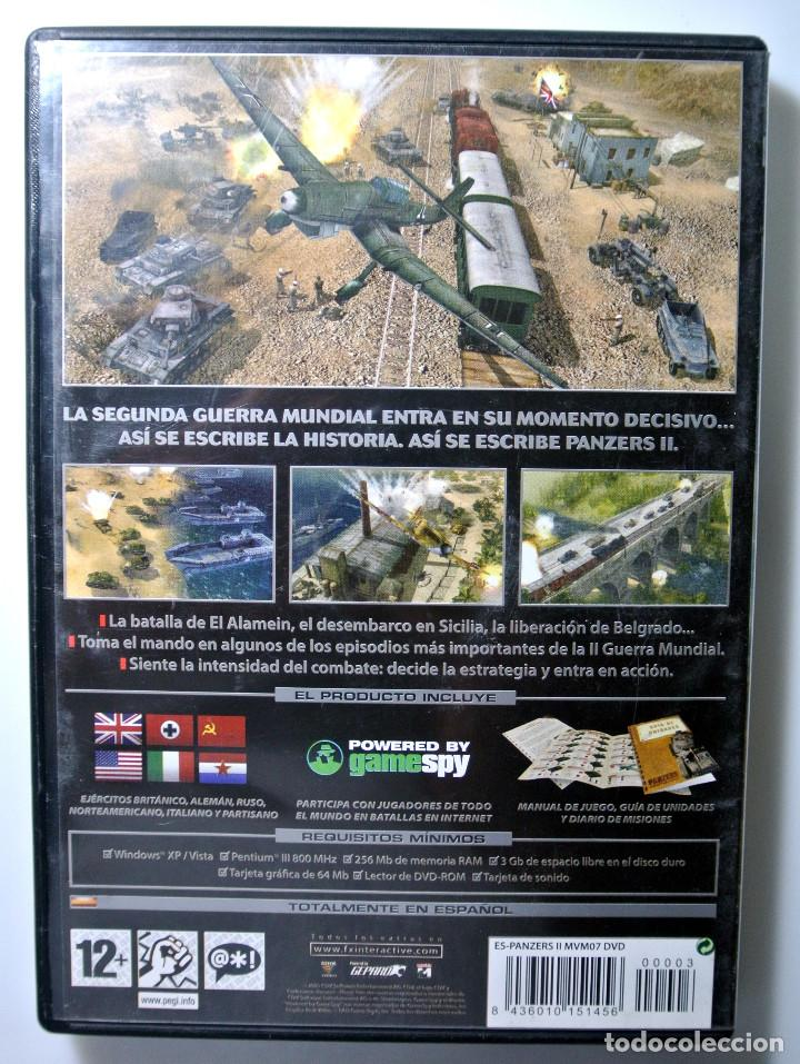 Videojuegos y Consolas: PC DVD ROM JUEGO PANZERS II , JUEGO PARA PC , INCLUYE MANUAL DE JUEGO - Foto 4 - 228340510