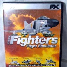 Videojuegos y Consolas: PC DVD ROM STRIKE FIGHTERS SIMULADOR DE VUELO DE COMBATE, JUEGO PARA PC , INCLUYE MANUAL DE JUEGO. Lote 228341460
