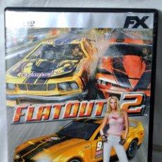 Videojuegos y Consolas: PC DVD ROM FLATOUT 2, COCHES A TODO GAS !, JUEGO PARA PC , INCLUYE MANUAL DE JUEGO. Lote 228342380