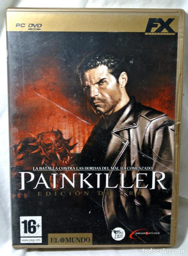 PC DVD ROM PAINKILLER EDICION DE ORO, JUEGO PARA PC , INCLUYE MANUAL DE JUEGO (Juguetes - Videojuegos y Consolas - PC)