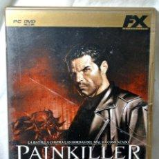 Videojuegos y Consolas: PC DVD ROM PAINKILLER EDICION DE ORO, JUEGO PARA PC , INCLUYE MANUAL DE JUEGO. Lote 228343925