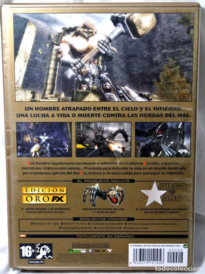 Videojuegos y Consolas: PC DVD ROM PAINKILLER EDICION DE ORO, JUEGO PARA PC , INCLUYE MANUAL DE JUEGO - Foto 4 - 228343925