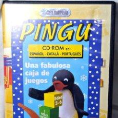 Videojuegos y Consolas: CD-ROM PINGU UNA FABULOSA CAJA DE JUEGOS , INCLUYE MANUAL DE INSTALACION. Lote 228344630
