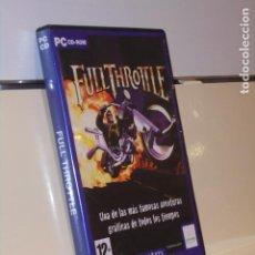 Videogiochi e Consoli: FULL THROTTLE PC CD-ROM - LUCASARTS CLASSIC. Lote 228624960