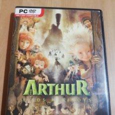 Videojuegos y Consolas: ARTHUR Y LOS MINIMOYS (PC / DVD ROM) EL JUEGO DE LA PELÍCULA DE LUC BESSON. Lote 228961475