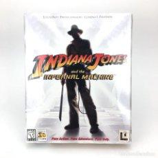 Videojuegos y Consolas: NDIANA JONES AND THE INFERNAL MACHINE PRECINTADO. LUCASARTS AVENTURA GRAFICA LUCASFILM NIB PC CD ROM. Lote 228961670