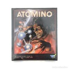 Videojuegos y Consolas: ATOMINO * PRECINTADO. DRO SOFT ESPAÑA PSYGNOSIS 1991 ATOMO QUIMICA MS DOS FLOPPY DISK PC DISKETTE 5¼. Lote 228977675