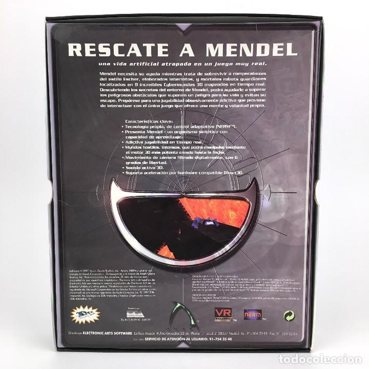 Videojuegos y Consolas: GALAPAGOS ELECTRONIC ARTS ESPAÑA ANARK MENDELs ESCAPE LABERINTO ROMPECABEZAS JUEGO 3D NERM PC CD ROM - Foto 3 - 228977905