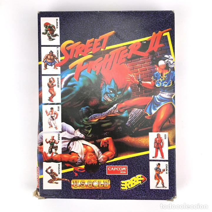STREET FIGHTER II ERBE ESPAÑA CAPCOM U.S GOLD 1992 CHUN LI DALSHIM HONDA DISKETTE 3½ DISK IBM DOS PC (Juguetes - Videojuegos y Consolas - PC)