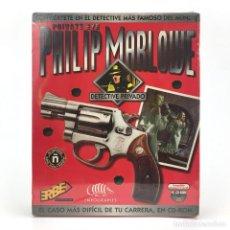 Jeux Vidéo et Consoles: PHILIP MARLOWE DETECTIVE PRIVADO * PRECINTADO CAJA GRANDE ERBE INFOGRAMES AVENTURA GRAFICA PC CD ROM. Lote 228998225