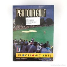 Videogiochi e Consoli: PGA TOUR GOLF DRO SOFT ESPAÑA ELECTRONIC ARTS STERLING SILVER SOFTWARE ´90 IBM MS DOS PC DISKETTE 3½. Lote 228998955