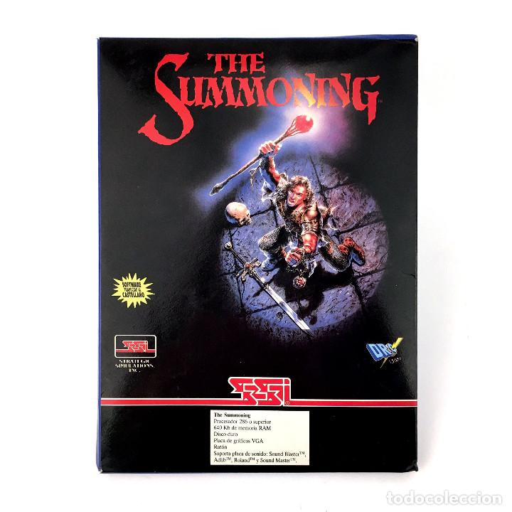 THE SUMMONING DRO SOFT ESPAÑA SSI EVENT HORIZON 1993 CASTELLANO. JUEGO RPG DISKETTE 3½ IBM MS DOS PC (Juguetes - Videojuegos y Consolas - PC)