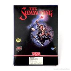 Videojuegos y Consolas: THE SUMMONING DRO SOFT ESPAÑA SSI EVENT HORIZON 1993 CASTELLANO. JUEGO RPG DISKETTE 3½ IBM MS DOS PC. Lote 229000527