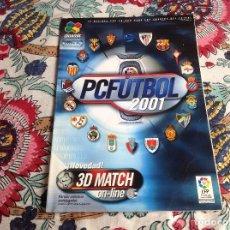 Videojuegos y Consolas: 10 GUIA PC FÚTBOL 2001. Lote 229212850
