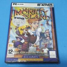 Videojuegos y Consolas: LA FUGA DE MONKEY ISLAND PC (CASTELLANO) NUEVO, SIN ESTRENAR. Lote 229309720