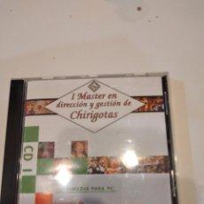 Videojuegos y Consolas: G-59 PC CDROM I MASTER EN DIRECCION Y GESTION CHIRIGOTAS CD 1. Lote 229774475