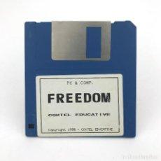 Videojuegos y Consolas: FREEDOM / REBELS IN THE DARKNESS COKTEL EDUCATIVE 1990 JUEGO MS DOS IBM PC Y COMPATIBLES DISKETTE 3½. Lote 230246535