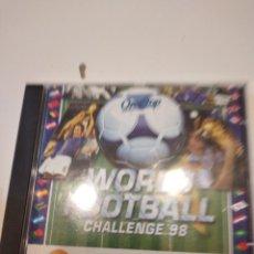 Videojuegos y Consolas: G-60 PC CDROM WORLD FOOTBALL CHALLENGE 98. Lote 230451235