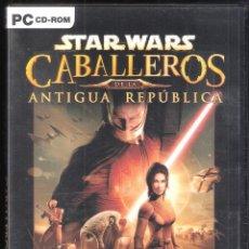 Videojuegos y Consolas: STAR WARS: CABALLEROS DE LA ANTIGUA REPÚBLICA, EN MUY BUEN ESTADO VER ESP -PC-. Lote 231380120