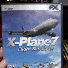 Videojuegos y Consolas: X PLANE 7 FLIGHT SIMULATOR PC DVD ROM. Lote 231536505