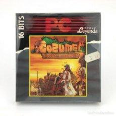 Videojuegos y Consolas: COZUMEL ADVENTURAS AD DINAMIC - CI-U-THAN TRILOGY 1 - CONVERSACIONAL DISKETTE 5 ¼ IBM MSDOS JUEGO PC. Lote 231568775