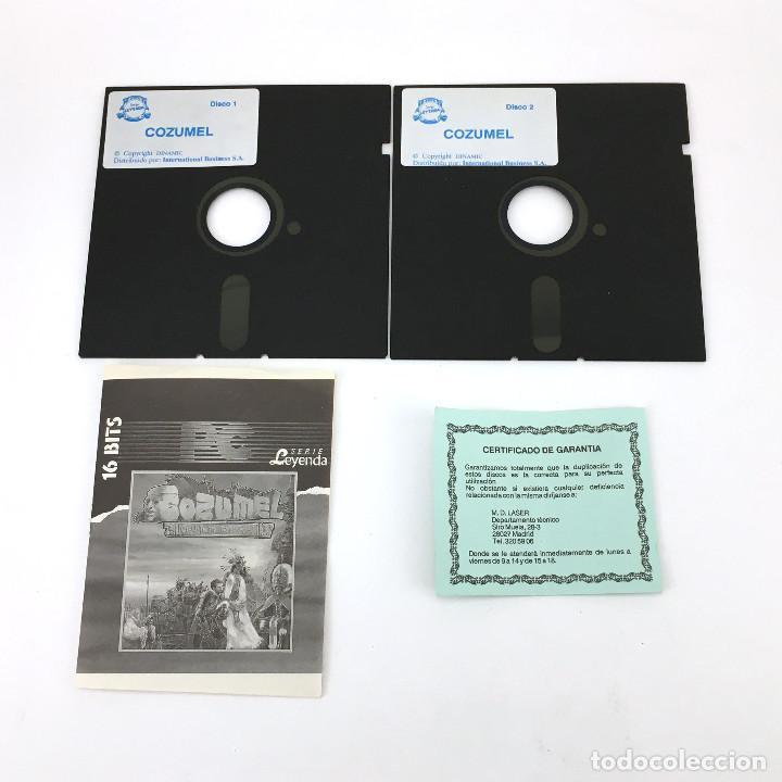 Videojuegos y Consolas: COZUMEL ADVENTURAS AD DINAMIC - CI-U-THAN TRILOGY 1 - CONVERSACIONAL DISKETTE 5 ¼ IBM MSDOS JUEGO PC - Foto 2 - 231568775