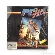 Videojuegos y Consolas: LIVINGSTONE SUPONGO II * PRECINTADO OPERA SOFT ESPAÑA 1989 VIDEOAVENTURA DISKETTE 5 ¼ MSDOS JUEGO PC. Lote 231568890