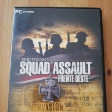 Videojuegos y Consolas: SQUAD ASSAULT. FRENTE OESTE (PC / CD-ROM). Lote 231985560
