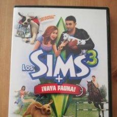 Videojuegos y Consolas: LOS SIMS 3 + ¡VAYA FAUNA! (PC / DVD ROM). Lote 231985965