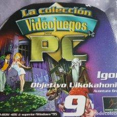 Videojuegos y Consolas: IGOR OBJETIVO UIKOKAHONIA MÍTICO JUEGO PARA PC. Lote 232205525