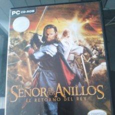 Videojuegos y Consolas: JUEGO PC. EL SEÑOR DE LOS ANILLOS EL RETORNO DEL REY. Lote 232448820