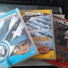 Videojuegos y Consolas: LOTE 3 JUEGOS PC. EJAY. PARA SER TODO UN DJ. Lote 232464875