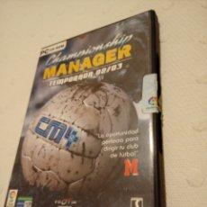 Videojuegos y Consolas: PC CD-ROM CHAMPIONSHIP MANAGER 4 - TEMPORADA 02/03. Lote 233020720