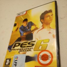 Videojuegos y Consolas: PC DVD-ROM PRO EVOLUTION SOCCER 6. Lote 233022125