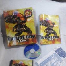 Videojuegos y Consolas: FUTURE COP L.A.P.D. PC BOX CAJA CARTON. Lote 233049465
