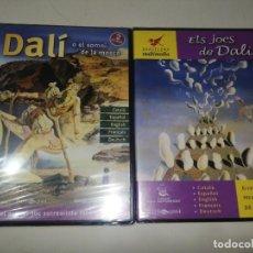 Videojuegos y Consolas: LOTE 2 CD-ROM DALI , DALI O EL SOMNI DE LA MOSCA + ELS JOCS DE DALI, FUNDACIO GALA - SALVADOR DALI. Lote 233169685