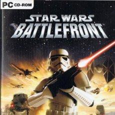 Videojuegos y Consolas: STAR WARS BATTLEFRONT PC CD - ROM. Lote 233677645