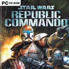 Videojuegos y Consolas: STAR WARS REPUBLIC COMMANDO PC CD - ROM. Lote 233677775