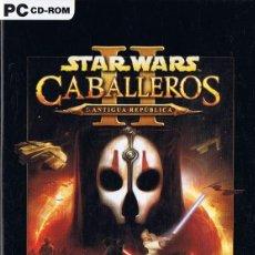 Videojuegos y Consolas: STAR WARS CABALLEROS DE LA ANTIGUA REPÚBLICA II LOS SEÑORES SITH PC CD - ROM. Lote 233678015