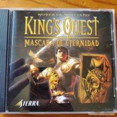 Videojuegos y Consolas: KING'S QUEST, MASCARA DE ETERNIDAD - PC CD ROM. 1ª EDICION.. Lote 233692575